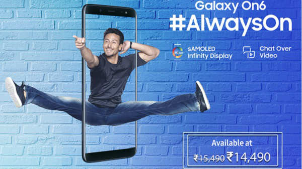 Samsung launches Galaxy On6 with Infinity Display at Rs. 14,490