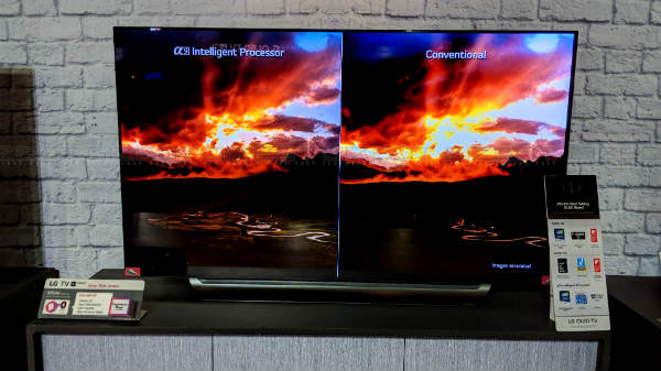 LG C8 OLED Smart TV First Impressions: Smartest smart TV around