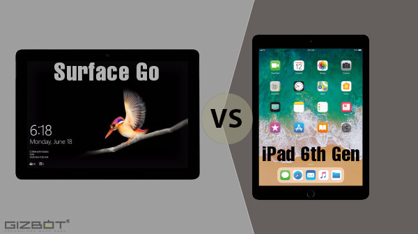 Microsoft Surface Go Vs 6th Gen iPad: Affordable yet premium tablets