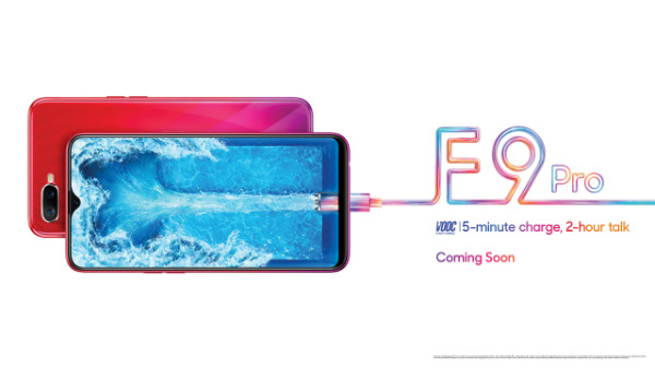 Oppo F9 Pro teaser hints at VOOC flash charging