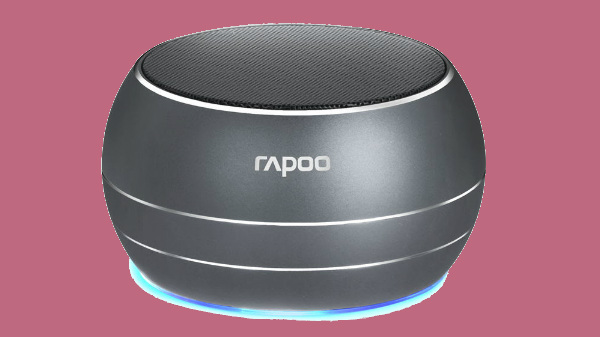 Rapoo India launches the portable A100 Bluetooth mini speaker