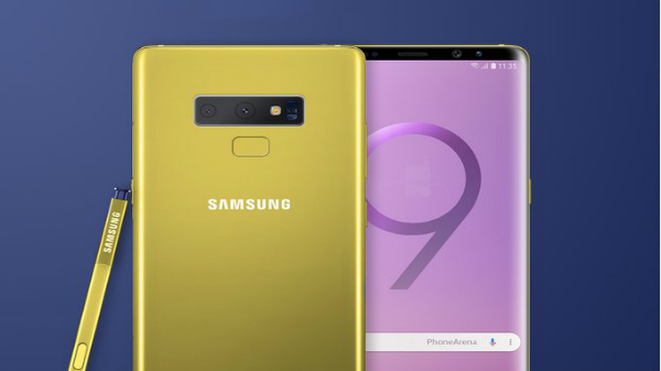 Samsung Galaxy Note 9 T-Shaped Configuration Outed