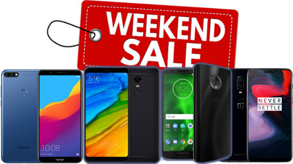Weekend offers and discounts on bestselling smartphones