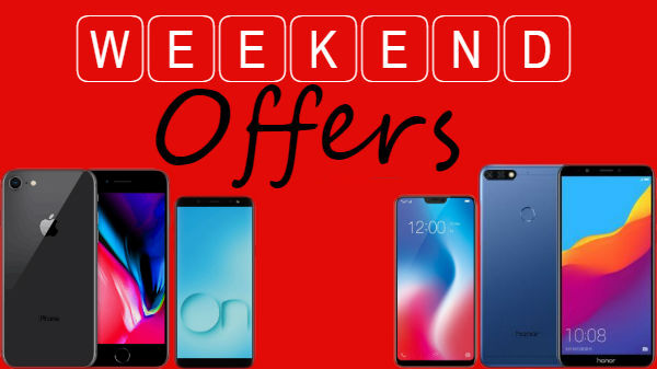 Weekend Offers on Smartphones: Google Pixel 2 XL, Honor P20 Lite, iPhone 8 and more