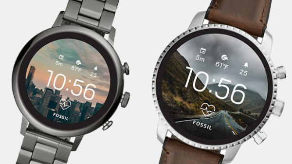 Fossil unveils two new smartwatches with heart-rate sensors and GPS