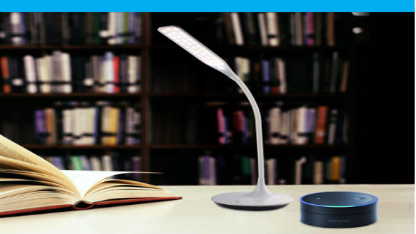 Syska LED launches Smart Table Lamp with Amazon Alexa support