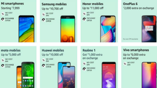 Amazon Freedom Sale: Buy these premium smartphones at lesser price