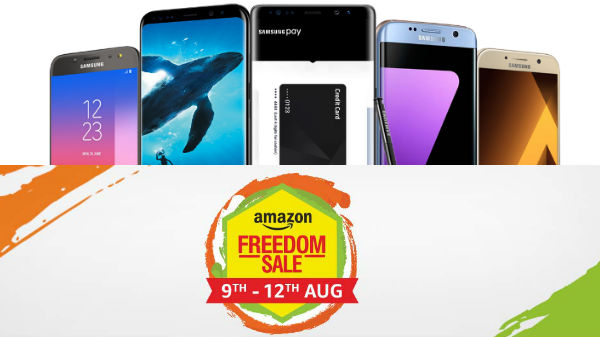 Amazon Freedom Sale on Samsung smartphones (9th to 12th August)