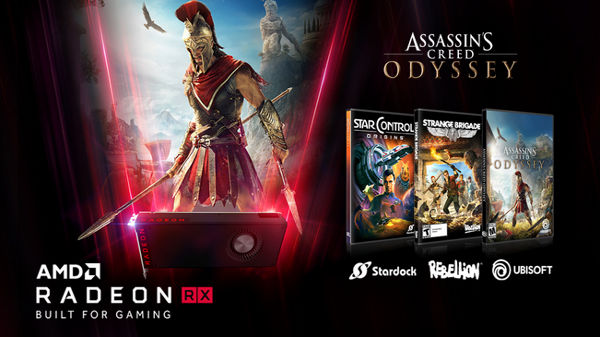 AMD Radeon Raise your game offer: Buy selected AMD GPUs get free games