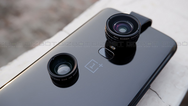 OnePlus 6 tested with Aukey smartphone lenses, astonishing results