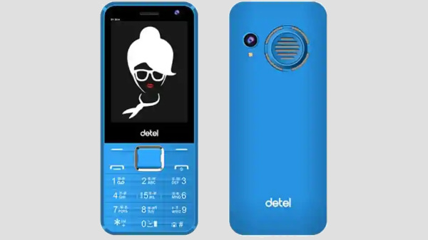 Detel D1 Slim feature phone launched for Rs. 1,199
