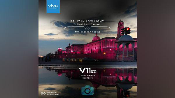 Vivo V11 Pro with the high-end Dual-Pixel Camera will be a Delight