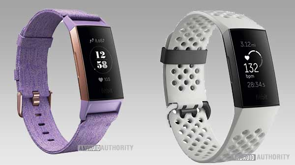 Leaked renders show the Fitbit Charge 3 in full glory