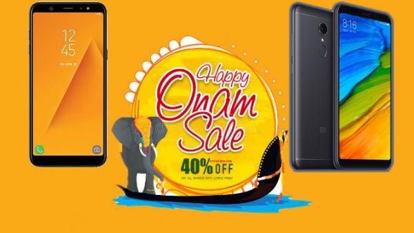 Flipkart and Amazon offer Onam festival discount on smartphones