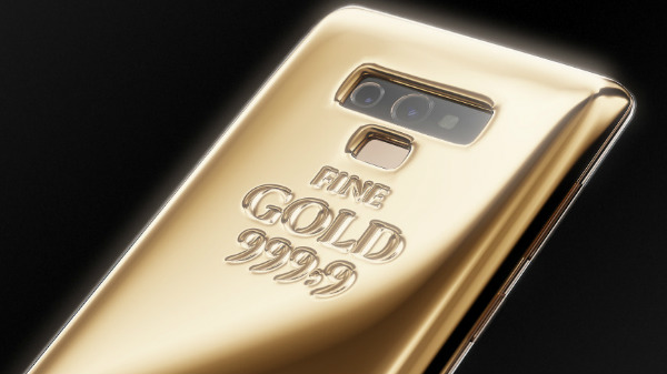 Samsung Galaxy Note 9 Gold Edition is 57 times costlier than original