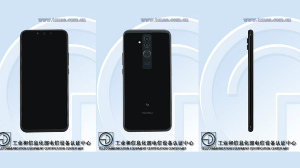 Huawei Mate 20 Lite with four cameras spotted on TENAA