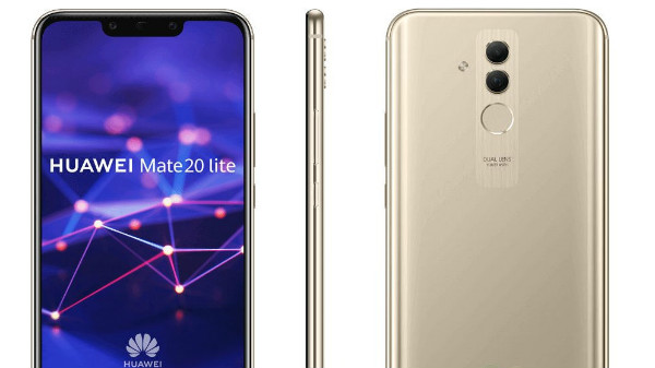 Huawei Mate 20 Lite leaked renders: Dual camera, notch and more