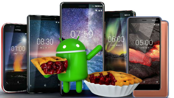 Nokia smartphones available in India expected to get Android 9 Pie
