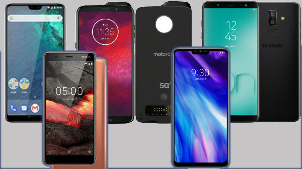 List of smartphones launched in August month 2018