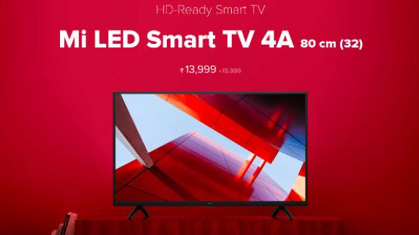 Xiaomi Redmi Y2, Mi TV 4 and Mi TV 4A to go on sale at 12 PM