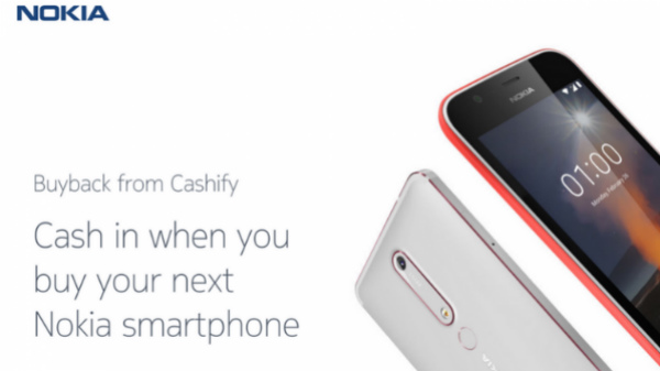 Nokia Buyback program with Cashify is now live in India