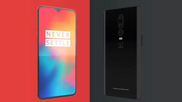 OnePlus 6T concept shows interesting features