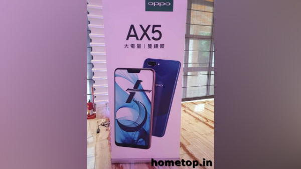 Oppo AX5 hands-on images, specifications and design leak