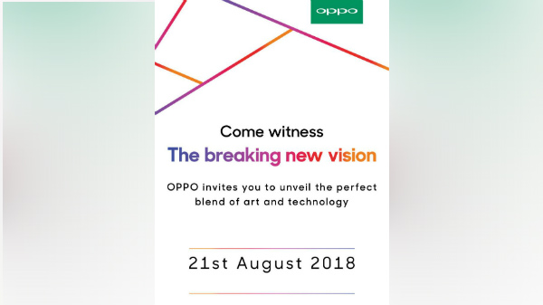 Oppo F9 Pro could be launched in India on August 21