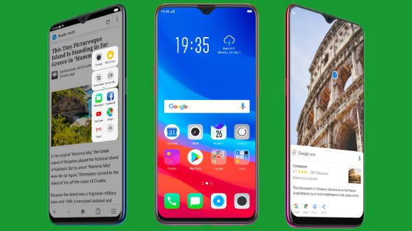 OPPO F9 Pro vs other smartphones under Rs. 35,000