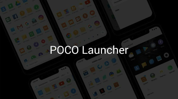 POCO Launcher Beta listed on Google Play Store