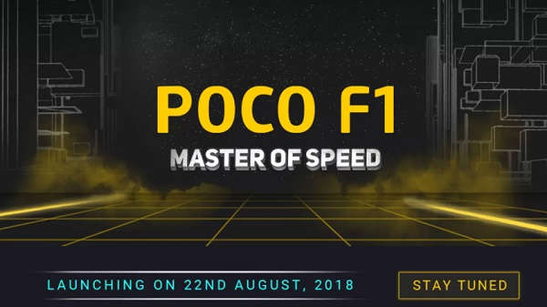 POCO F1 will be unveiled tomorrow as a Flipkart exclusive product