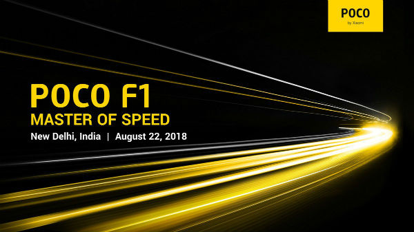 Pocophone F1 launch in India on 22nd August: Features, Price, Specs