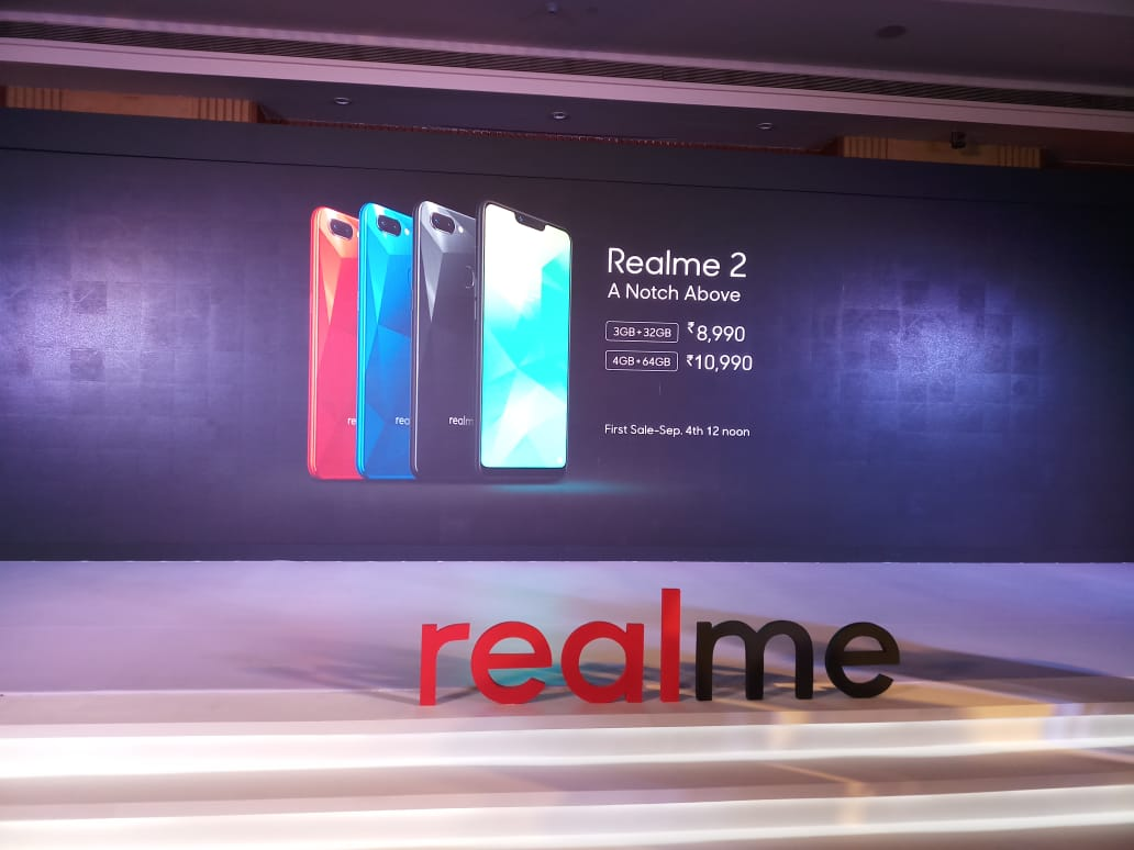 Realme 2 top features: Notch display, 4230 mAh battery, Face unlock