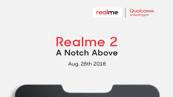 Realme 2 will be powered by a Qualcomm Snapdragon processor