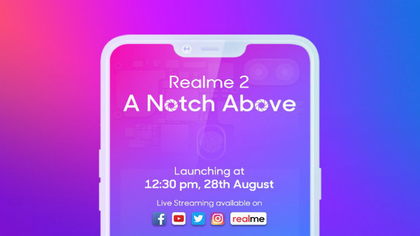Realme 2 will have a rear-facing fingerprint sensor with two cameras