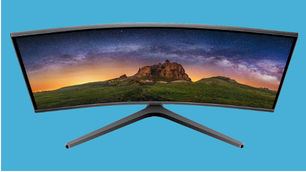 Samsung unveils a new series of curved monitors