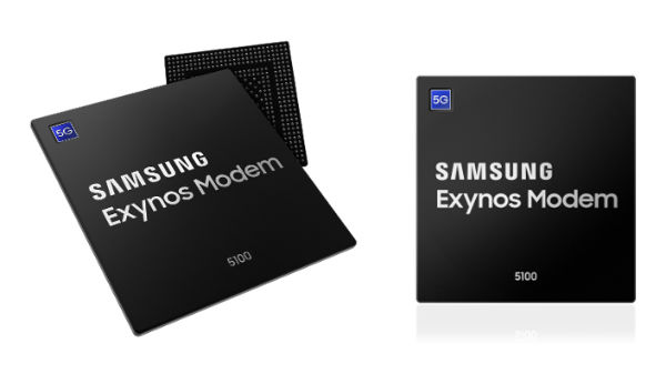 Samsung announces Exynos Modem 5100, industry's first 5G modem