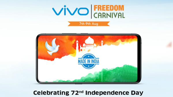 Vivo Freedom Carnival Sale Independence day sale: Discount offers on