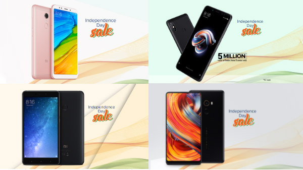Xiaomi Independence Day Sale: Discounts up to Rs 5,000 on Mi phones