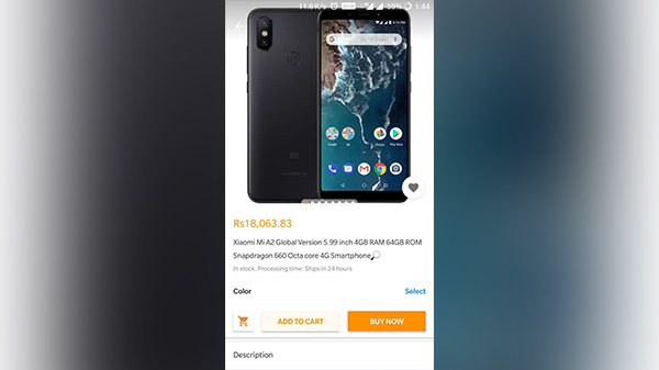 Xiaomi Mi A2 price leaked: Will cost Rs 18,000 in India for 4 GB RAM