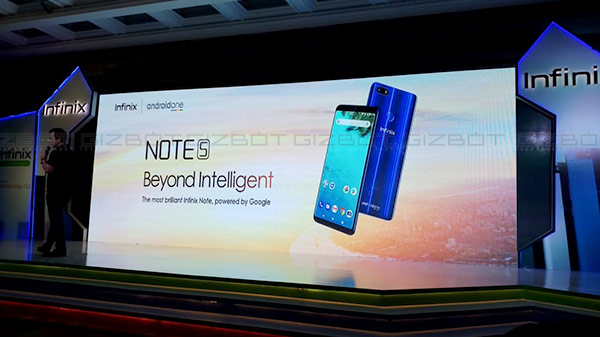 Infinix launches its Android One-powered Note 5 in India