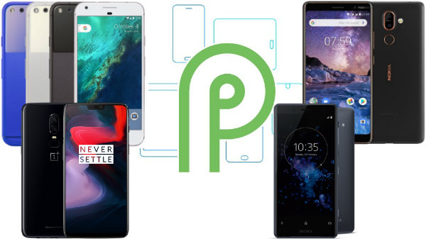 List of smartphones that run Android P beta