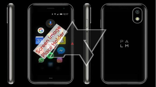 TCL backed Palm to announce an Android smartphone with just 3.3-inch display