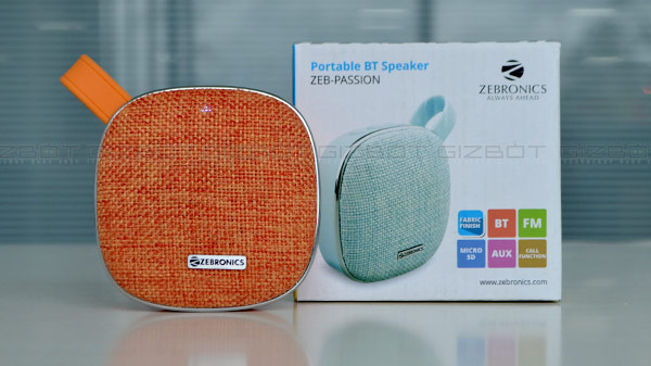 Zebronics Passion Bluetooth speaker review