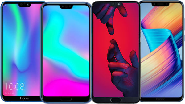 List of Honor smartphones you can buy starting Rs. 9,999