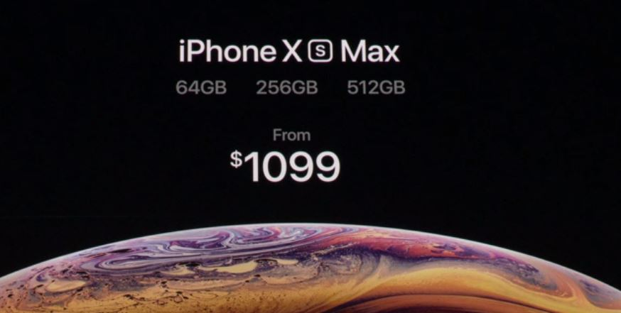 Image result for apple xs max price and features