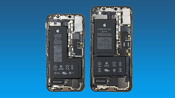 iPhone XS, XS Max iFixit teardown reveals an unusual battery setup
