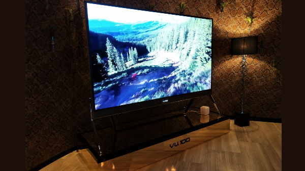 VU launches the first 100-inch 4K LED TV in India
