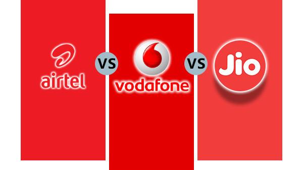 Airtel Rs 249 vs Vodafone Rs 255 vs Reliance Jio Rs 199
