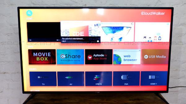 CloudWalker Cloud TV 50SFX2 (50-inch) Smart TV Review